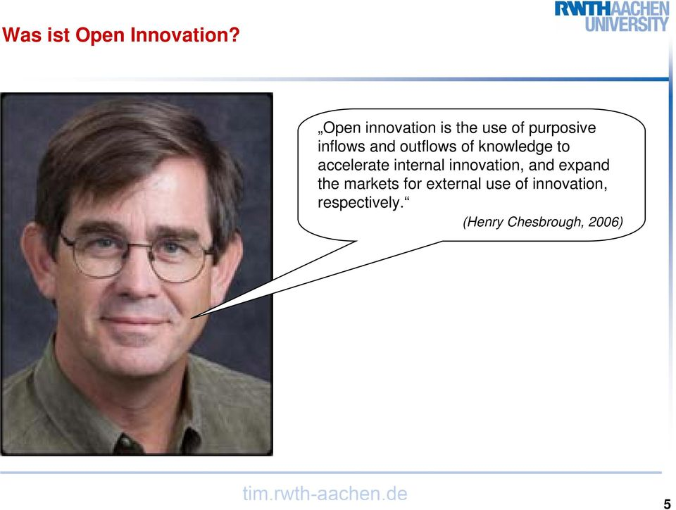 outflows of knowledge to accelerate internal innovation,
