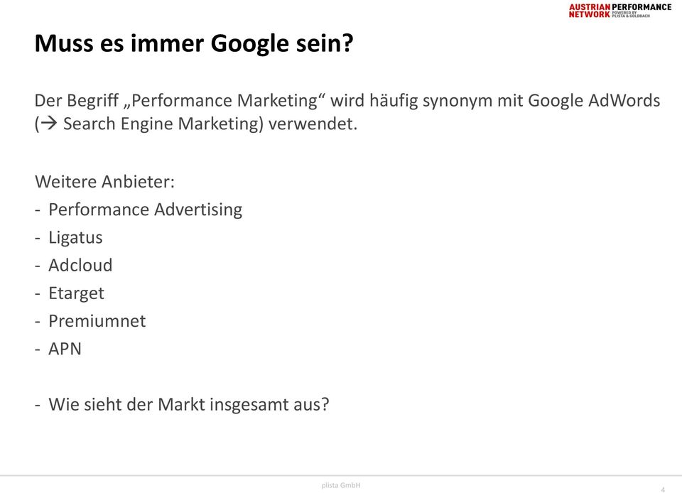 AdWords ( Search Engine Marketing) verwendet.