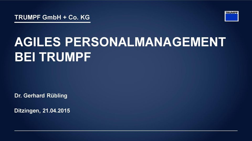 PERSONALMANAGEMENT BEI