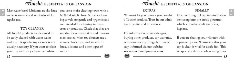 Suitable cleaning towels are gentle and hygienic and are intended for cleaning intimate areas or products. Check that they are suitable for sensitive skin and mucous membranes.