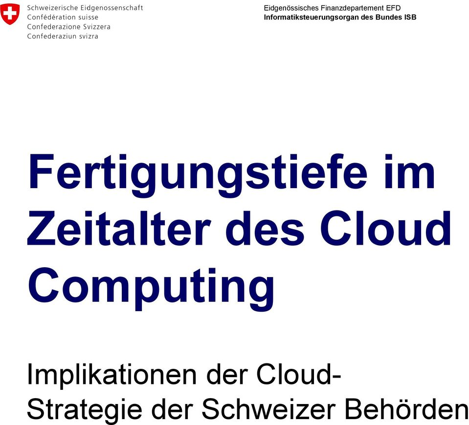 Computing Implikationen