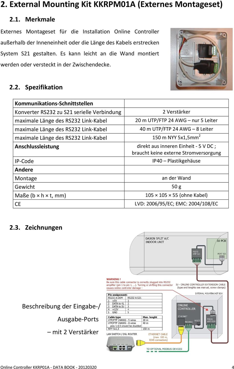 Air-conditioner network controller and accessories - PDF