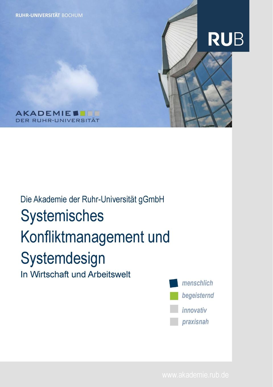 Konfliktmanagement und Systemdesign In