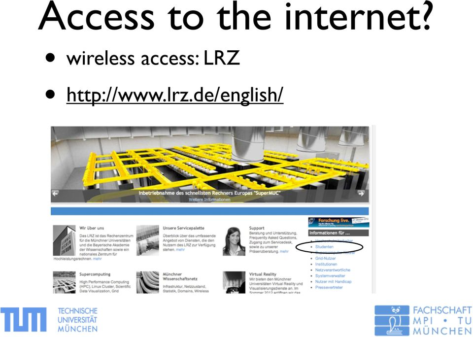 wireless access: