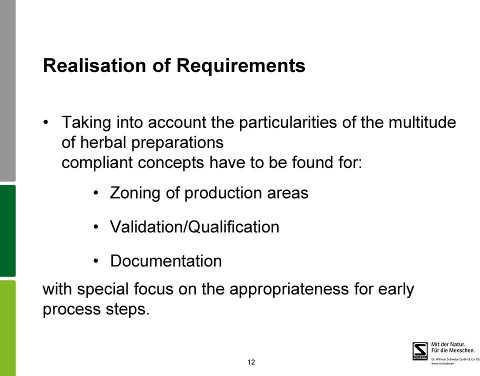 found for: Zoning of production areas Validation/Qualification