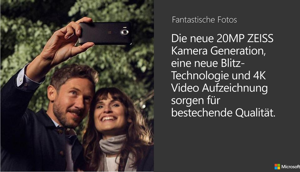Blitz- Technologie und 4K Video