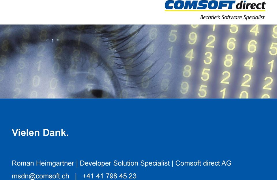 Solution Specialist Comsoft