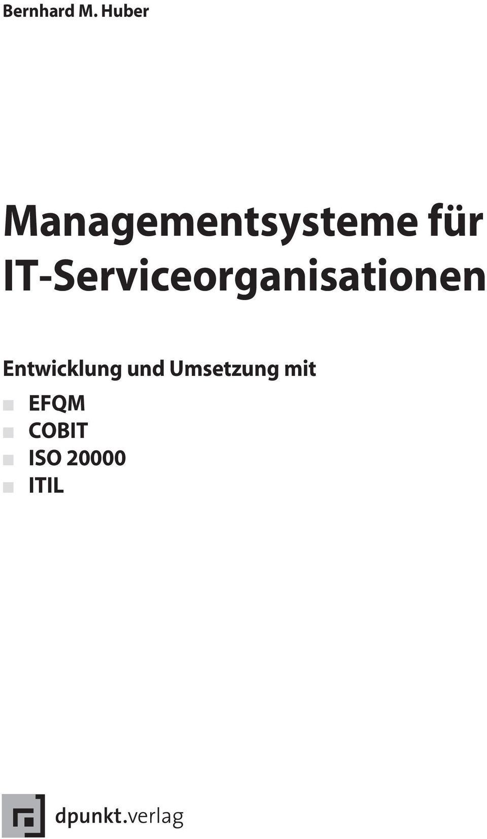 IT-Serviceorganisationen