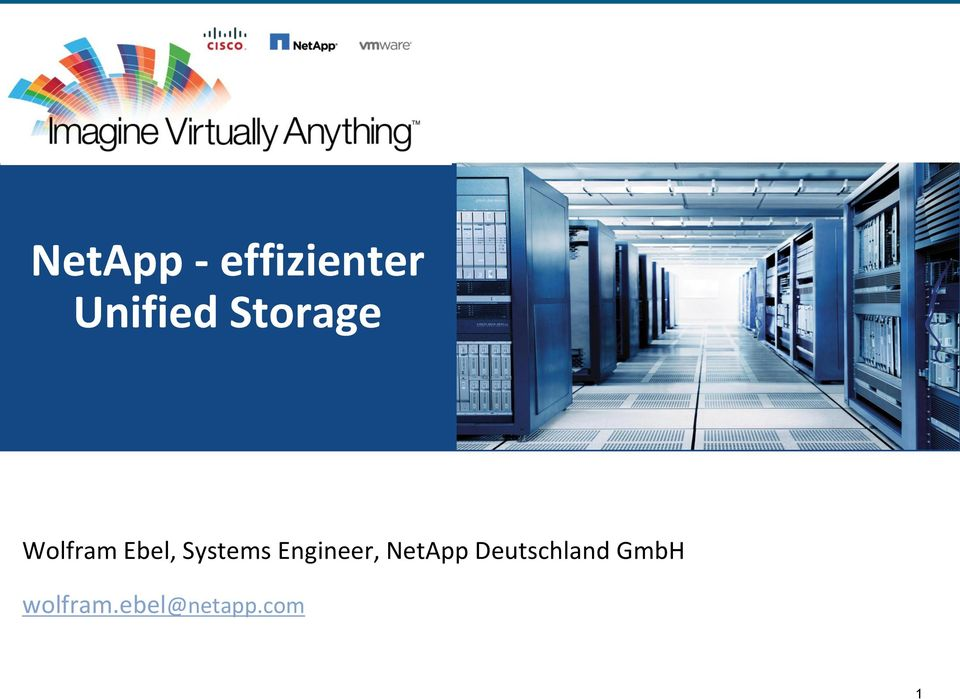 Engineer, NetApp Deutschland