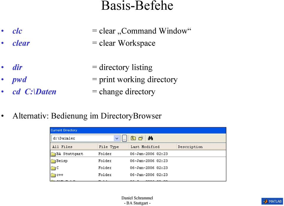 Beaches] Matlab print variable to command window
