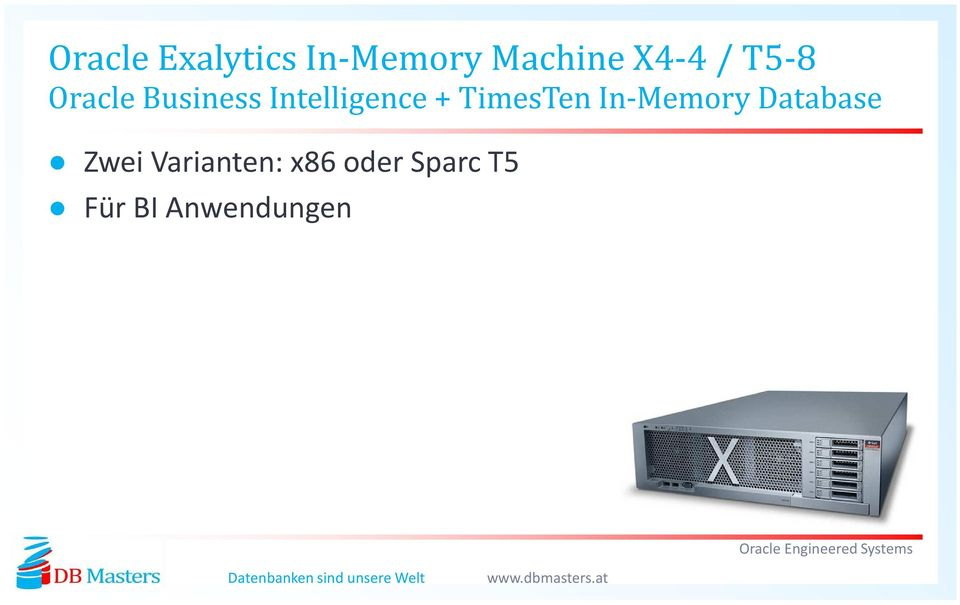 TimesTen In-Memory Database Zwei