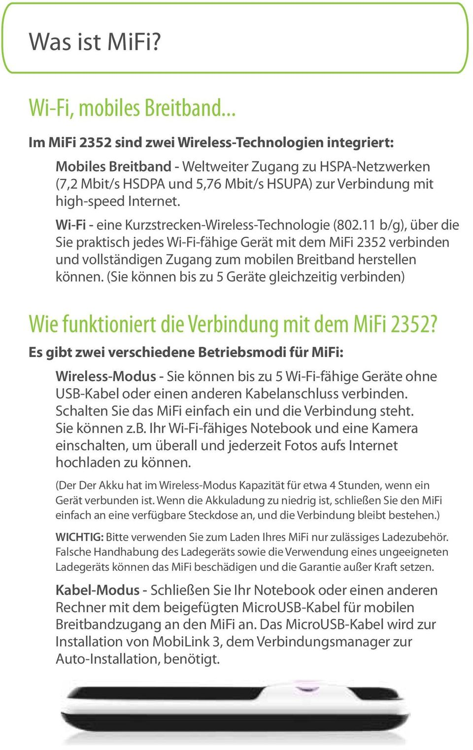 Wi-Fi - eine Kurzstrecken-Wireless-Technologie (802.