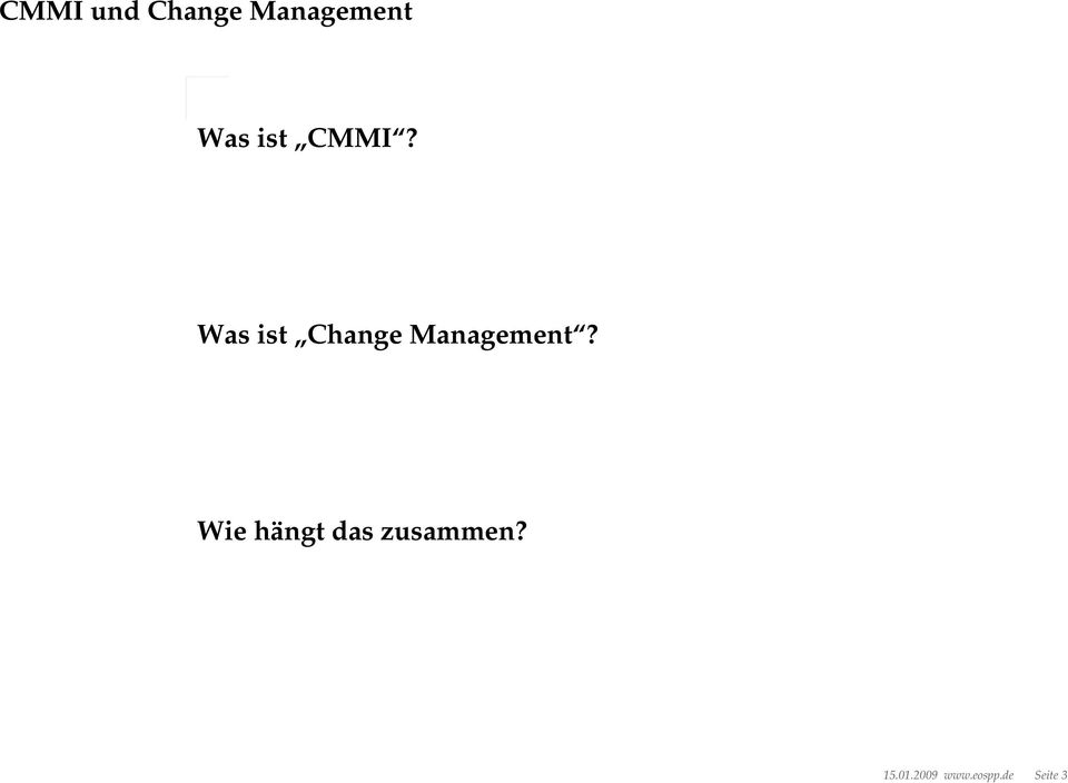 Was ist Change Management?