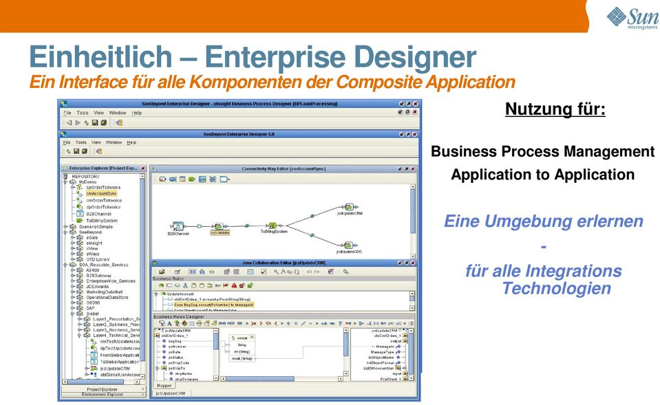 Business Process Management Application to Application
