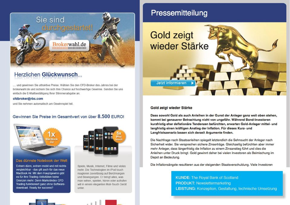 Newslettermarketing LEISTUNG: