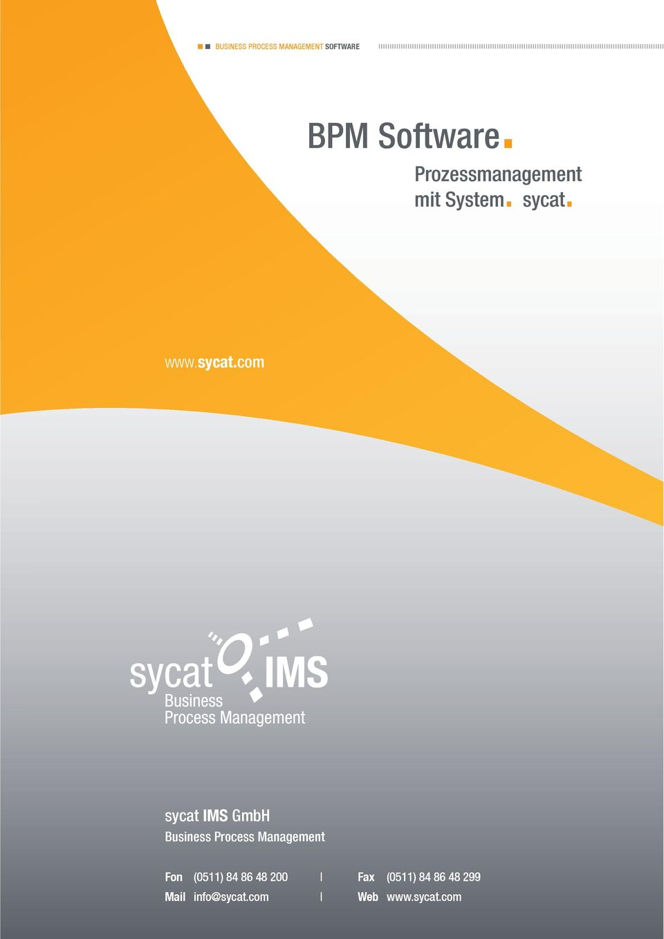 sycat IMS GmbH Business Process