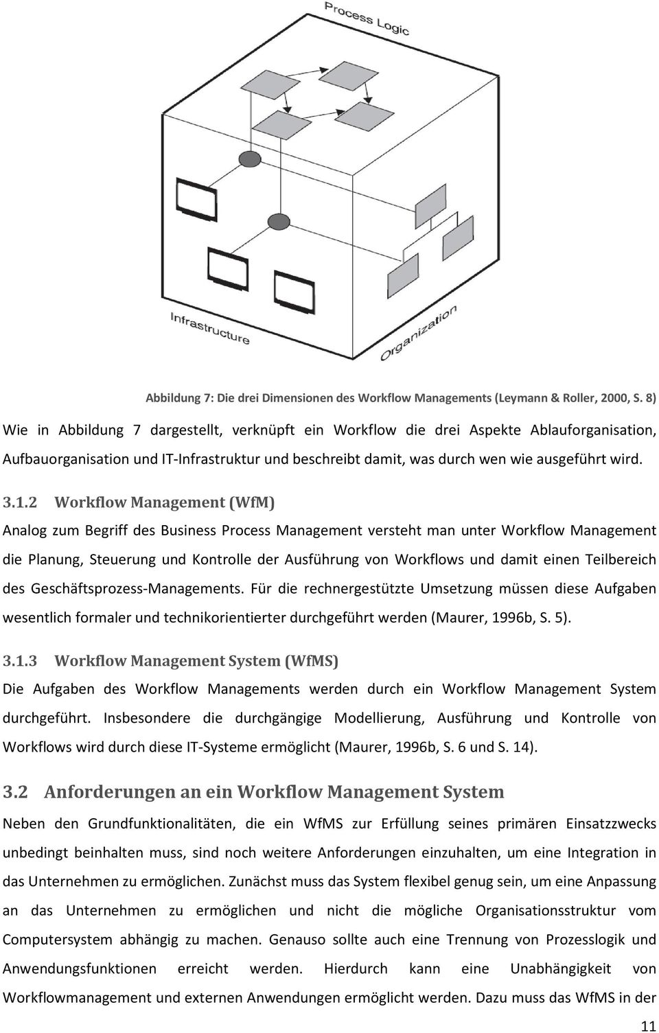 2 Workflow Management (WfM) Analog zum Begriff des Business Process Management versteht man unter Workflow Management die Planung, Steuerung und Kontrolle der Ausführung von Workflows und damit einen