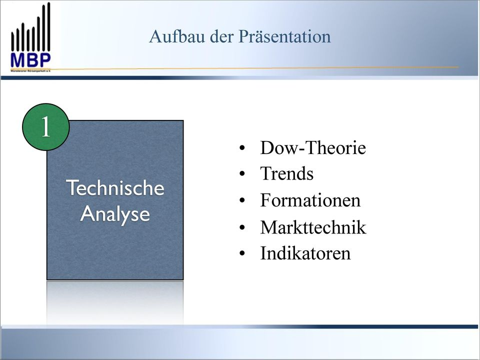 Analyse Trends