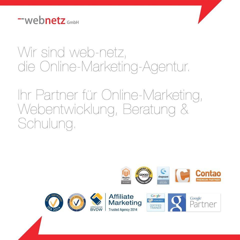 Ihr Partner für Online-Marketing,