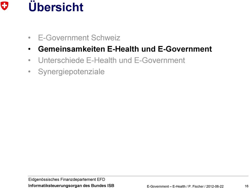 E-Government Unterschiede