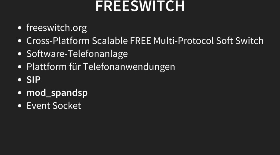 Multi-Protocol Soft Switch