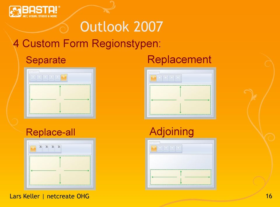 Separate Outlook 2007