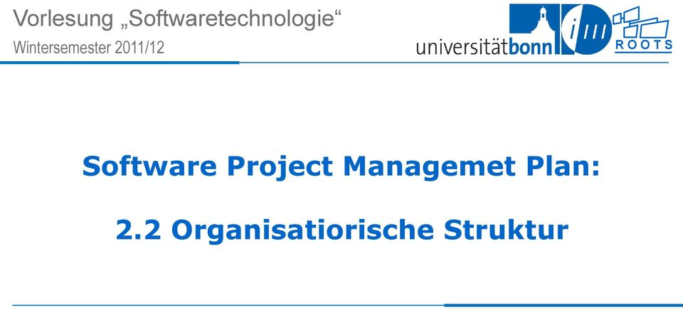 S Software Project Managemet