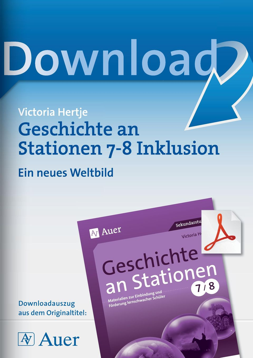 dem Originaltitel: Geschichte an Stationen Materialien