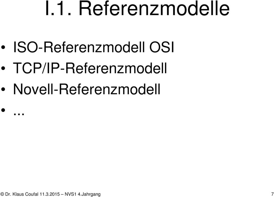 TCP/IP-Referenzmodell