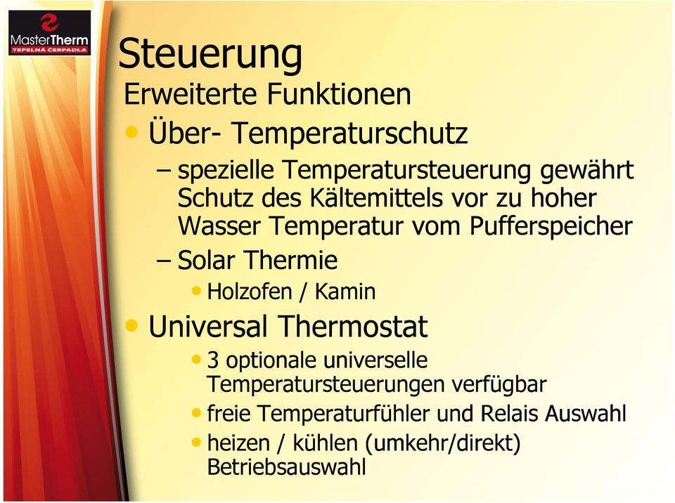 Holzofen / Kamin Universal Thermostat 3 optionale universelle Temperatursteuerungen