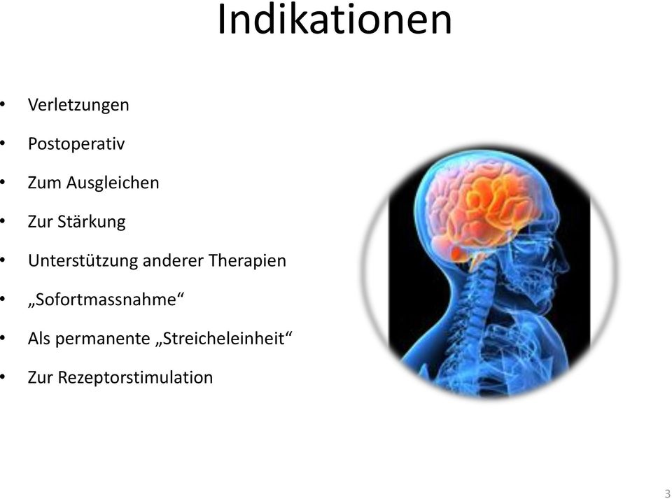 anderer Therapien Sofortmassnahme Als