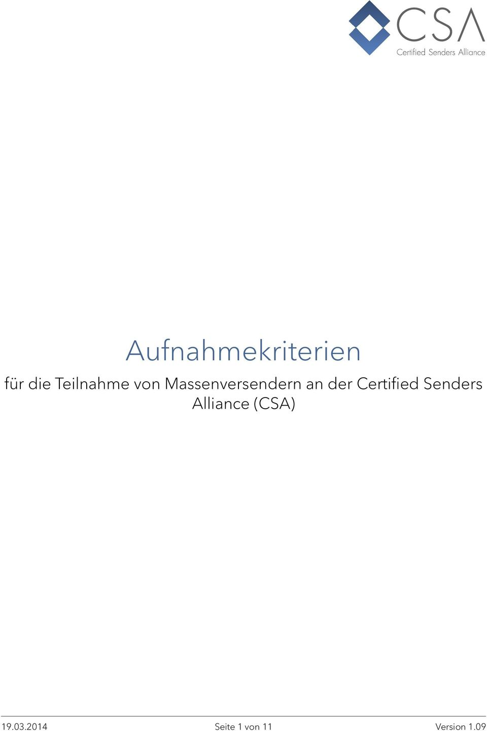 der Certified Senders Alliance
