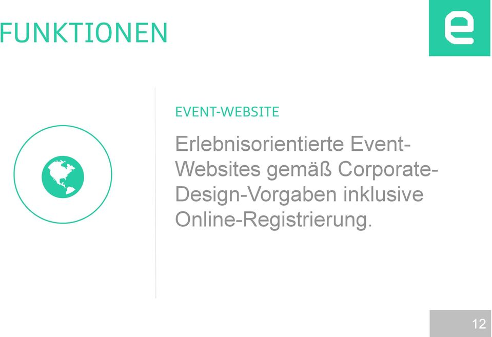 Websites gemäß Corporate-