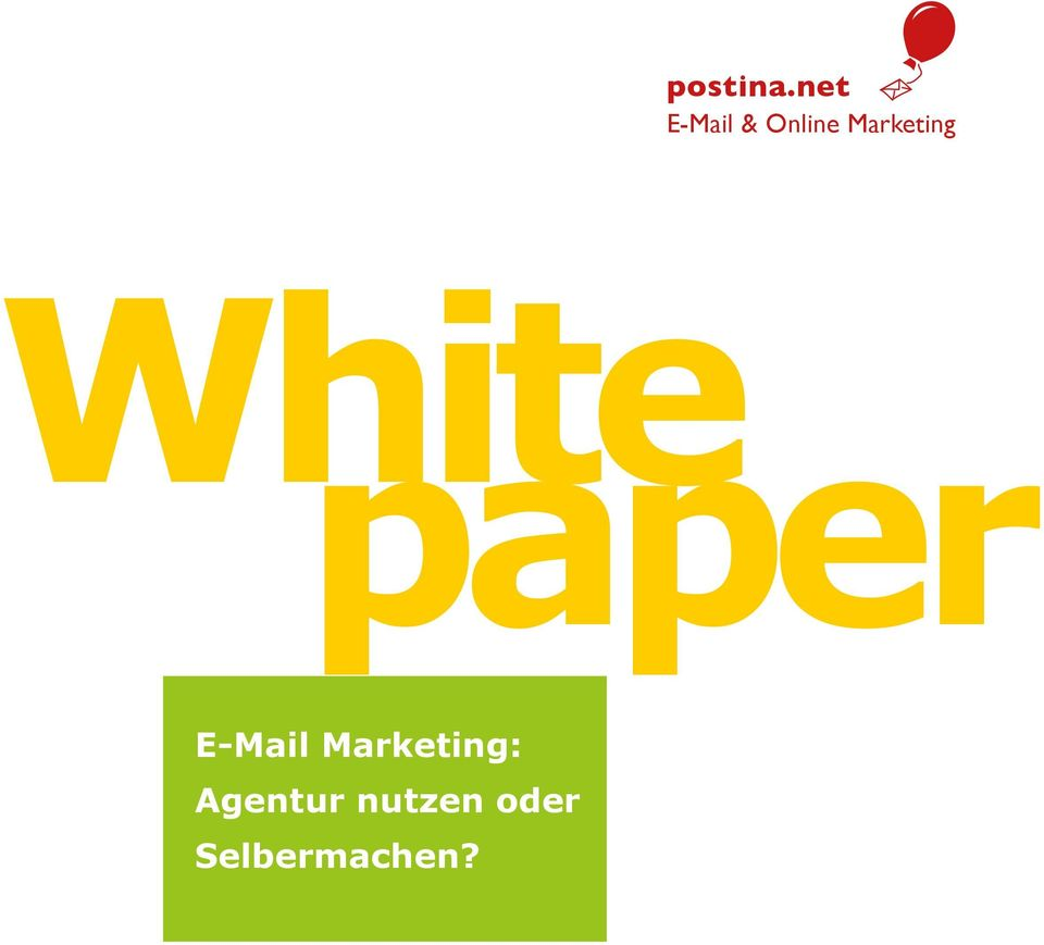 Marketing White paper