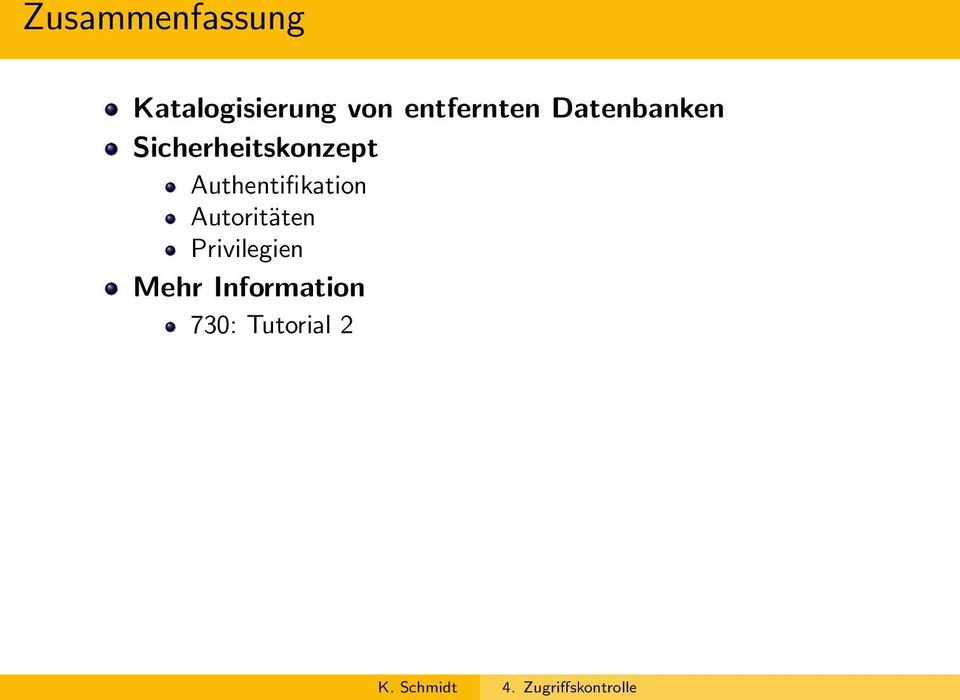 Sicherheitskonzept Authentifikation