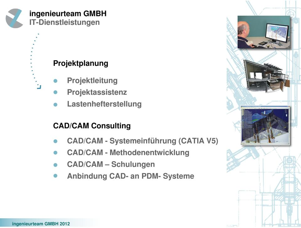 Consulting CAD/CAM - Systemeinführung (CATIA V5)