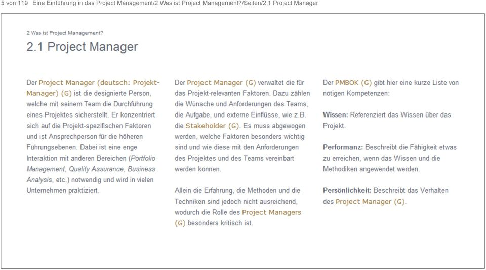 Management/2 Was ist