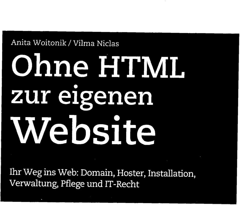 ins Web: Domain, Hoster,