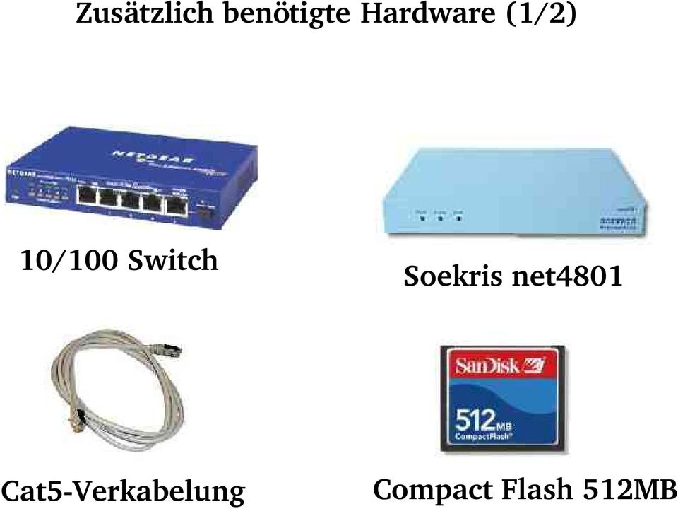 Switch Soekris net4801