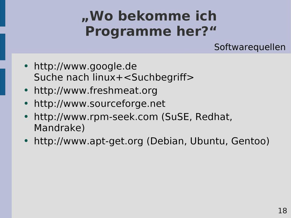 org http://www.sourceforge.net http://www.rpm-seek.