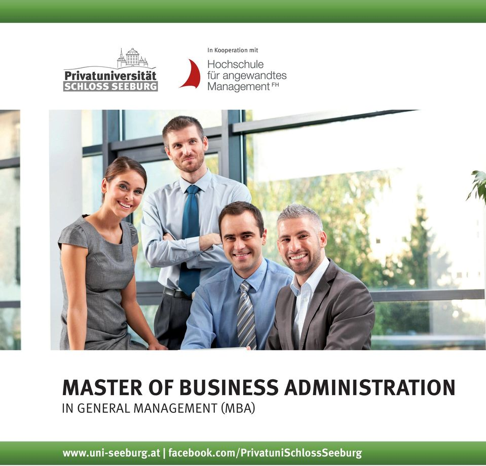 GENERAL MANAGEMENT (MBA) www.