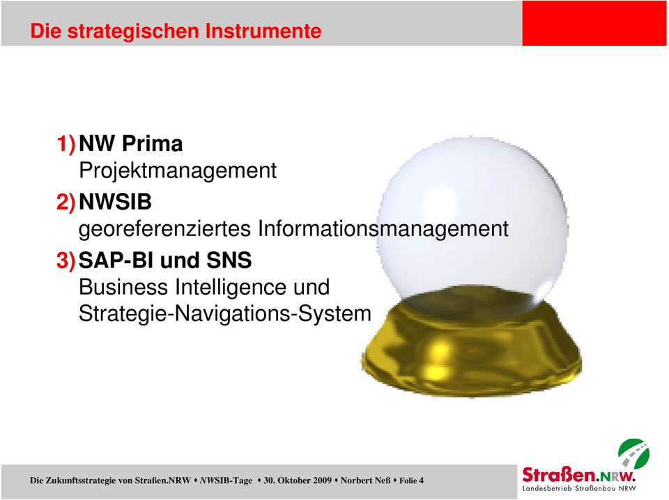 Business Intelligence und Strategie-Navigations-System Die