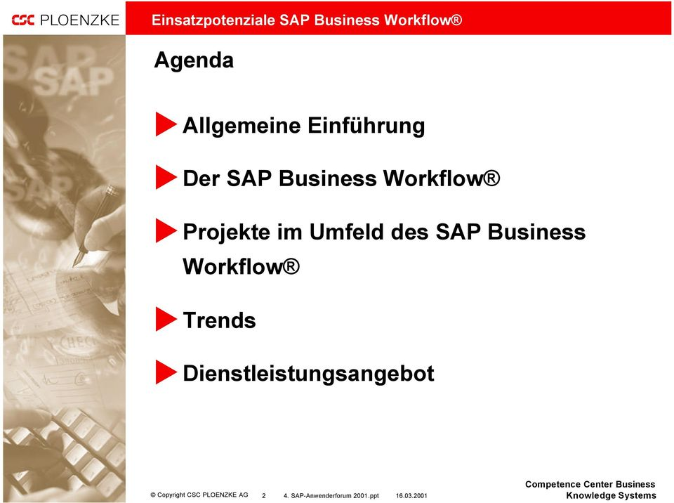 SAP Business Workflow a Trends a