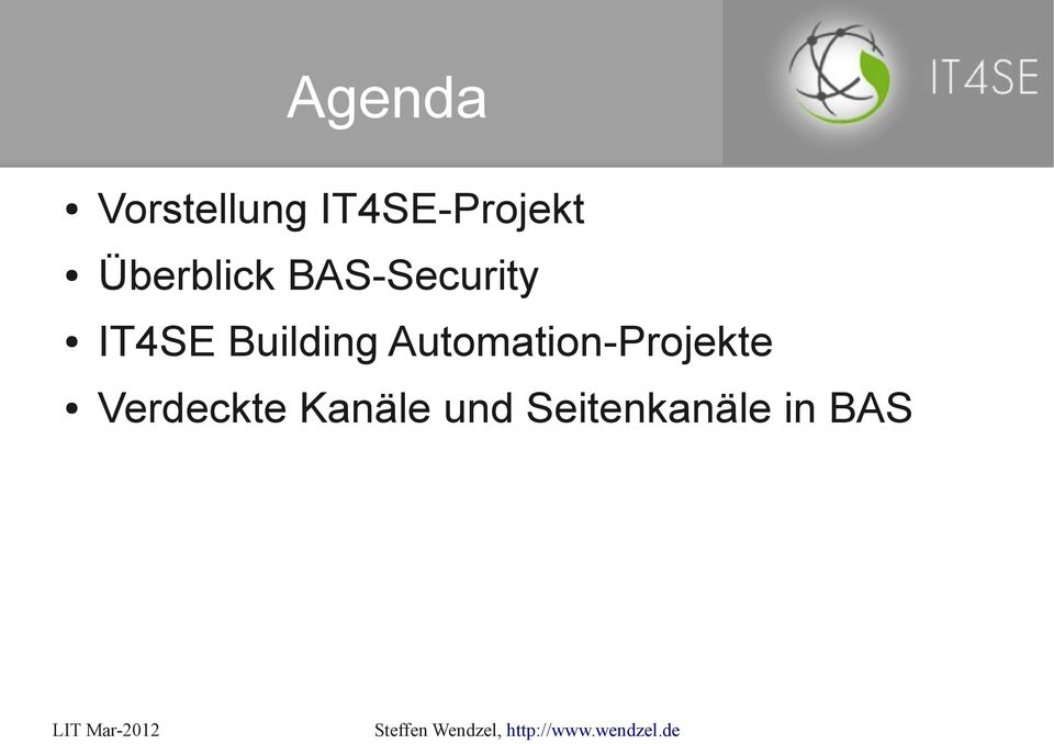 Building Automation-Projekte