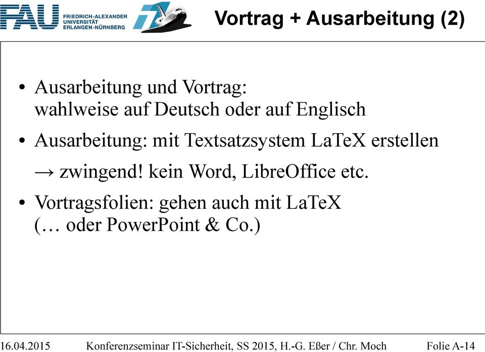 kein Word, LibreOffice etc.