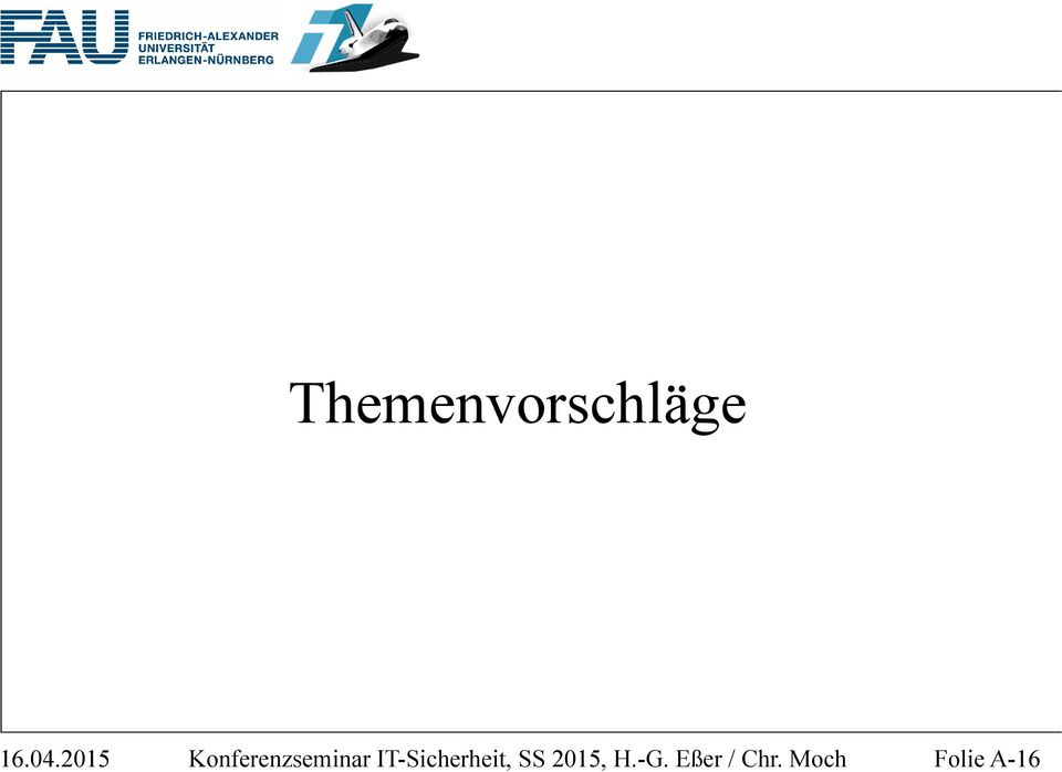 IT-Sicherheit, SS