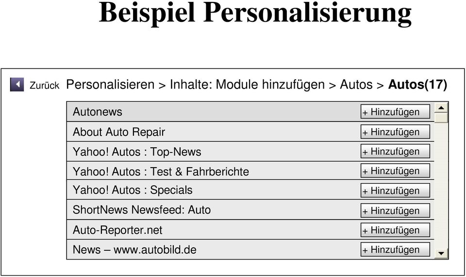 Autos : Test & Fahrberichte Yahoo! Autos : Specials ShortNews Newsfeed: Auto Auto-Reporter.