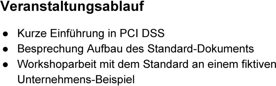 Standard-Dokuments Workshoparbeit mit