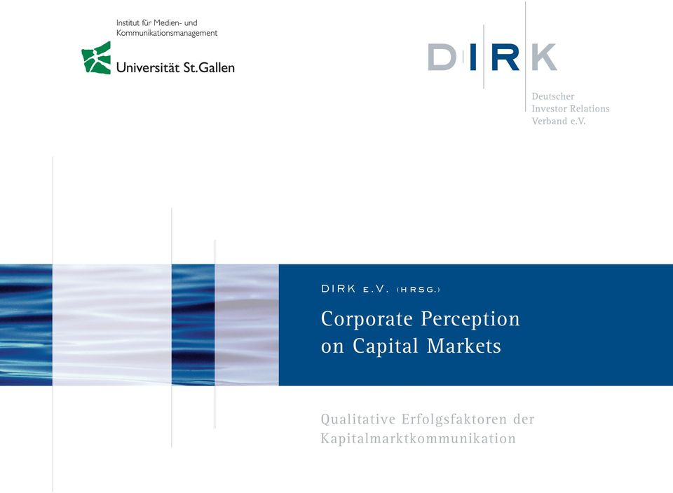 Capital Markets Qualitative
