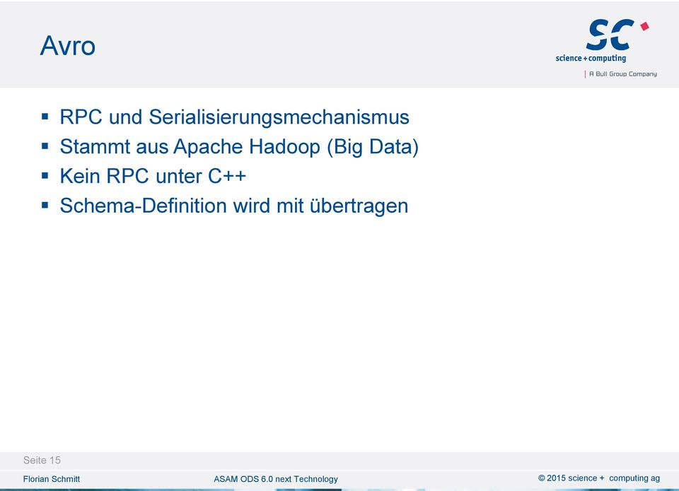 aus Apache Hadoop (Big Data) Kein